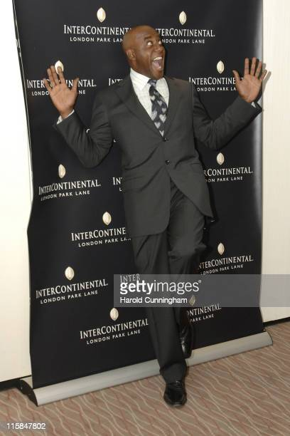 Ainsley Harriott during InterContinental London Park Lane Relaunch Gala Inside Arrivals at InterContinental Hotel in London Great Britain