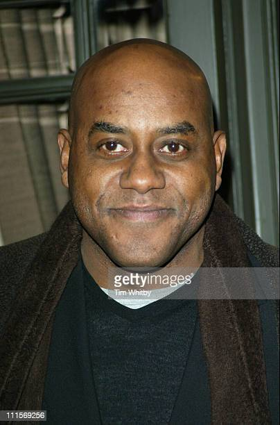 Ainsley Harriott during 'Meet The Fockers' London Celebrity Screening Arrivals at Covent Garden Hotel in London Great Britain