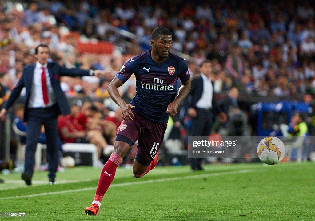 SOCCER: MAY 09 UEFA Europa League - Arsenal FC at Valencia CF : ニュース写真