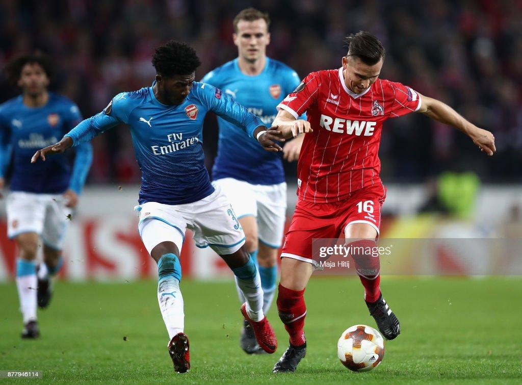 1. FC Koeln v Arsenal FC - UEFA Europa League : News Photo