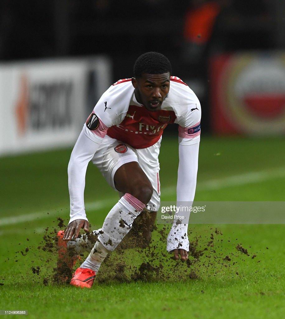 BATE Borisov v Arsenal - UEFA Europa League Round of 32: First Leg : News Photo