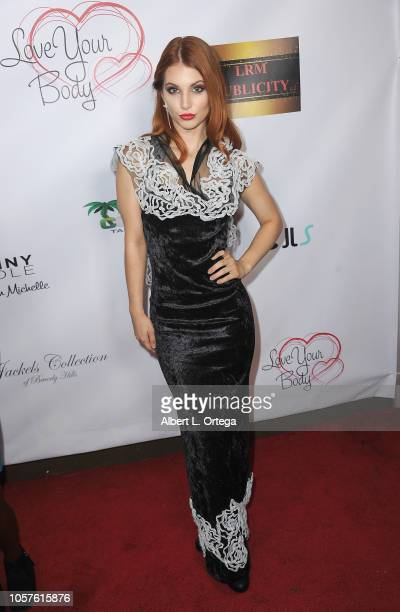 Ainsley Ross attends 6th Annual Love Your Body Fashion Show And Shopping Event held at Luxe Sunset Boulevard Hotel on November 4 2018 in Beverly...