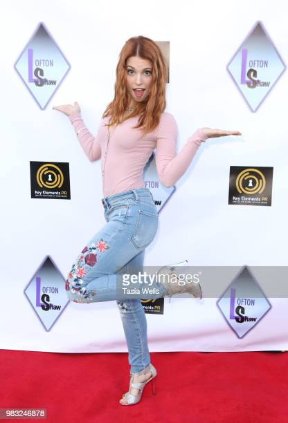 Ainsley Ross attends Lofton Shaw's 18th birthday party on June 24 2018 in Northridge California