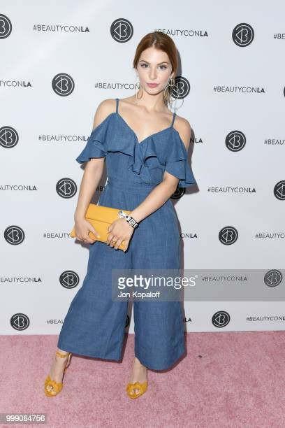Ainsley Ross attends the Beautycon Festival LA 2018 at the Los Angeles Convention Center on July 14 2018 in Los Angeles California
