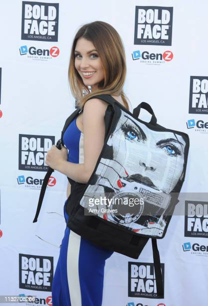 Ainsley Ross attends the BOLDFACE Gear Launch Party By ConnectHER Media on March 24 2019 in Los Angeles California