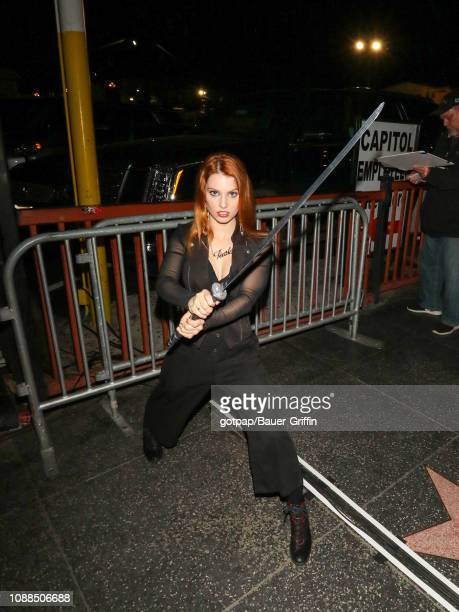 Ainsley Ross is seen on January 24 2019 in Los Angeles California