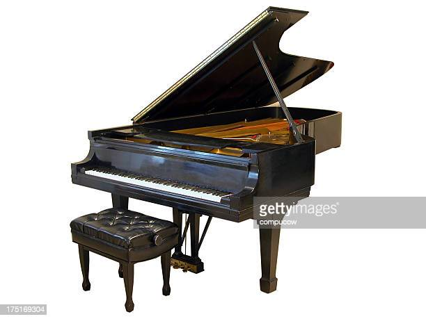 ain't it grand - grand piano stock photos and pictures