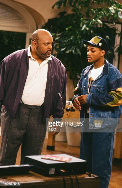 AIR 'Ain't No Business Like Show Business' Episode 22 Pictured James Avery as Philip Banks Will Smith as William 'Will' Smith Photo by Paul...