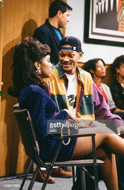 AIR 'Ain't No Business Like Show Business' Episode 22 Pictured Lisa Marie Todd as Shawna Will Smith as William 'Will' Smith Photo by Paul...