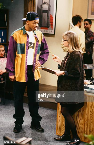 AIR 'Ain't No Business Like Show Business' Episode 22 Pictured Will Smith as William 'Will' Smith Susan Isaacs as Casting Director Photo by Paul...