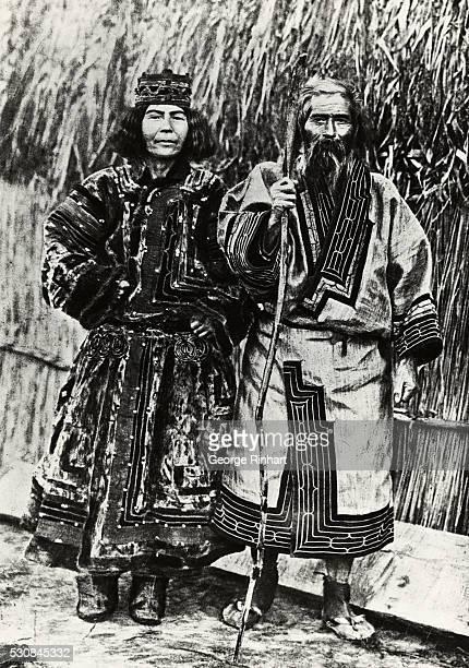Ainu man and wife