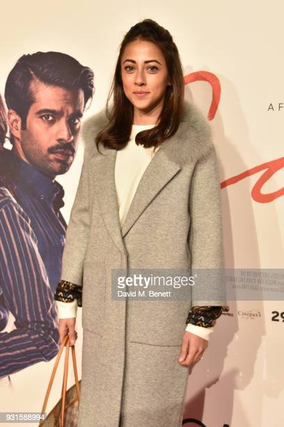 Ainy Jaffri attends the UK Premiere of 'Cake' at the Vue West End on March 13 2018 in London England