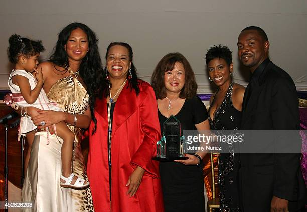 Aioko Simmons Kimora Lee Simmons Jamie Foster Brown publisher of Sister to Sister Joann Perkins Jacque Reid anchor of BET Nightly News and Gary...