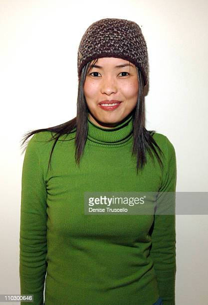 Aiquin Lin at Zola Hats during 2007 Park City Luxury Lounge Day 4 at Media Placement Luxury Lounge in Utah United States