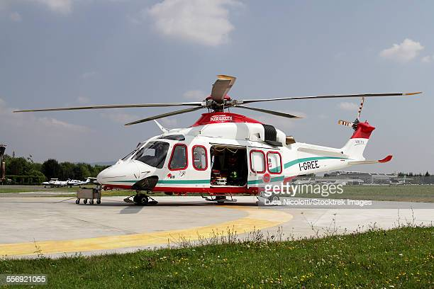 AW139 Air Ambulance, Collegno, Italy.