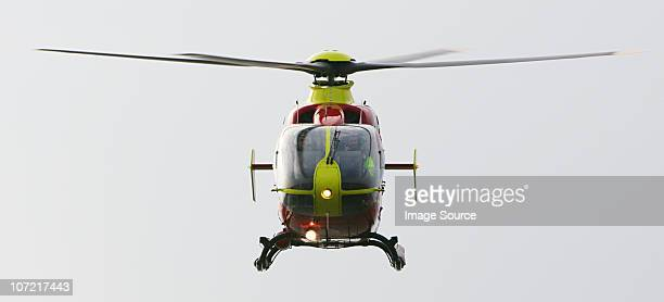 air ambulance helicopter - medevac stock photos and pictures