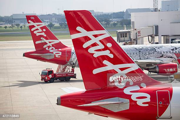 Air Asia airplanes