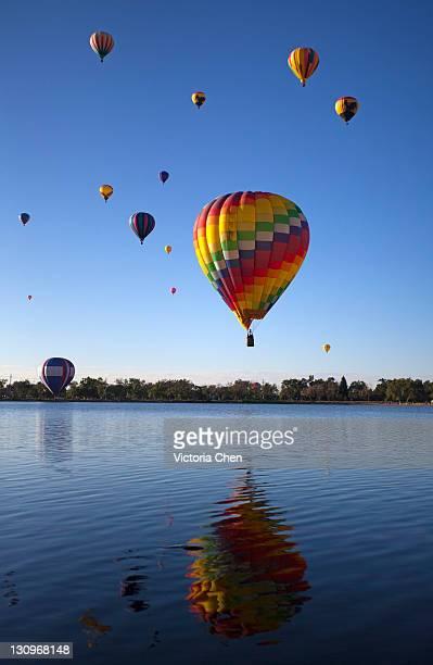 air balloon festival - colorado springs stock pictures, royalty-free photos & images