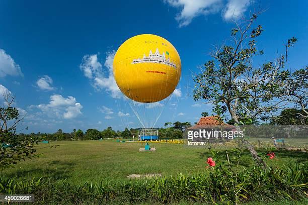 Air balloon in Angkor Wat