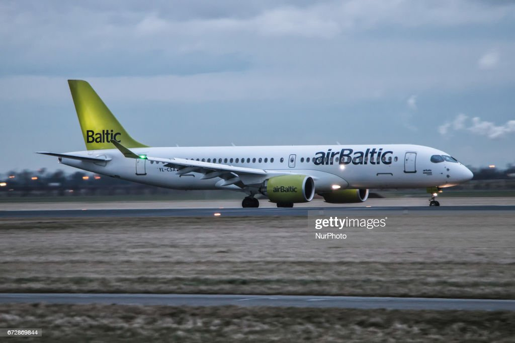 Air Baltic, a regional airline based in Riga, Latvia is the first operator to fly the brand new Canadian made Bombardier CS300 airplane. CS300 is the newest narrow body or single aisle airplane using the most sophisticated and modern technology. Bigger windows, less noise, less fuel consumption, wider seats and ambient light cabin are among the best newest characteristics. Air Baltic focuses in the Baltic countries as hubs and serves in Europe, Russia and soon in Abu Dhabi. Images are from one of the busiest routes for the airline, Amsterdam to Riga. AirBaltic coopering with Bombardier is the launch customer who servers with this new advanced plane offering a more convenient flight to passengers on board.