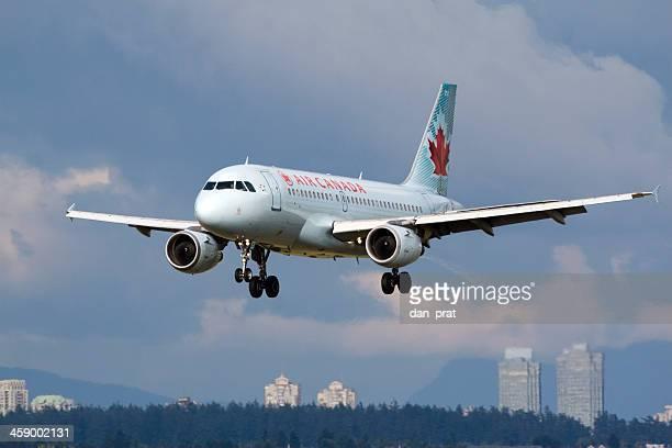 air canada a320 - air canada fotografías e imágenes de stock