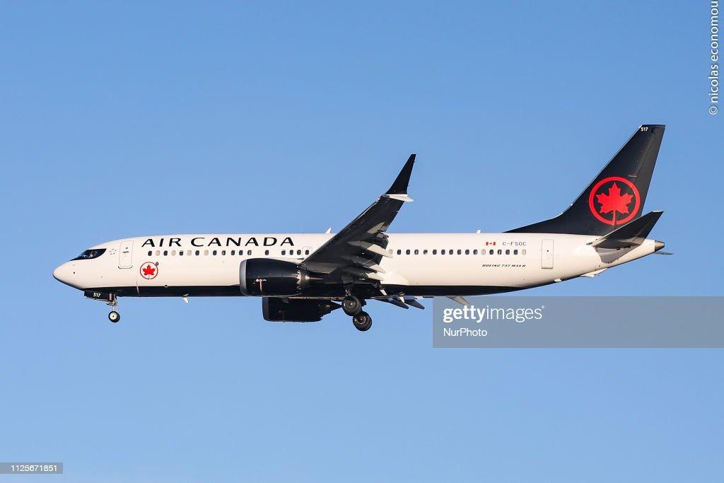 Air Canada Boeing 737 MAX 8 : News Photo