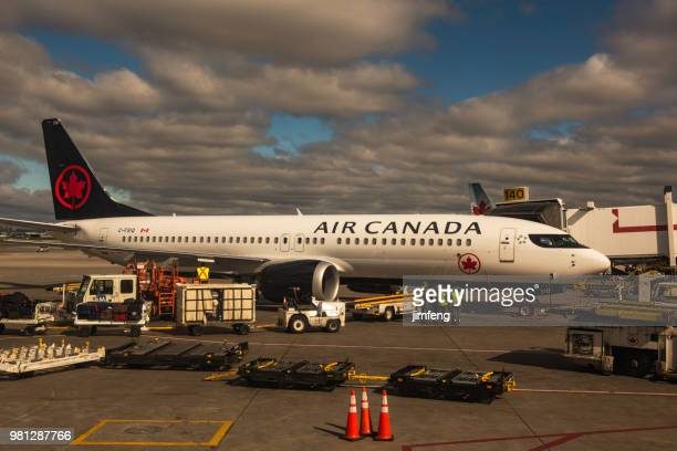Air Canada Flight Preparation