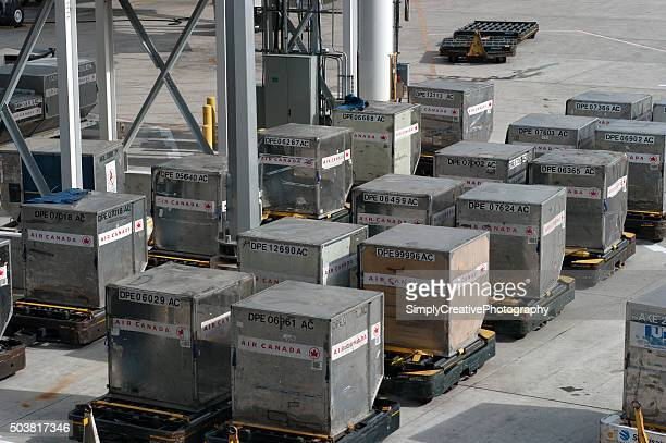 Air Canada Shipping Containers