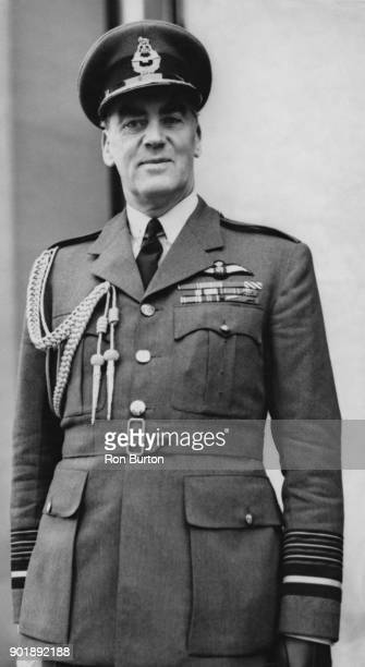 Air Chief Marshal Dermot Boyle of the RAF arrives at the Air Ministry in London to take up his appointment as Chief of the Air Staff 2nd January 1956