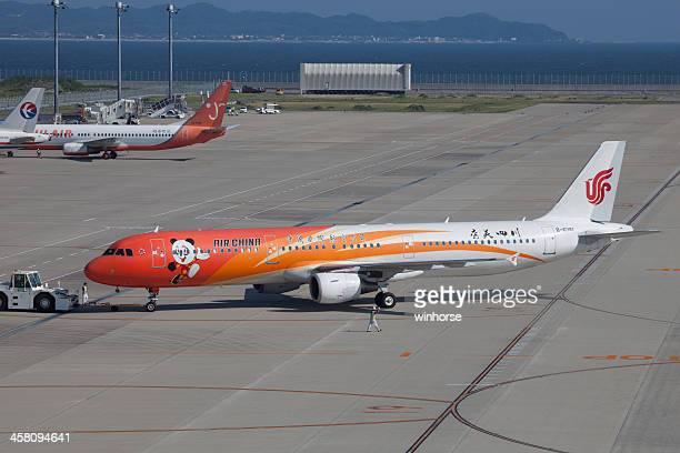 中国国際航空のエアバス a321 日本 - 中部国際空港 ストックフォトと画像