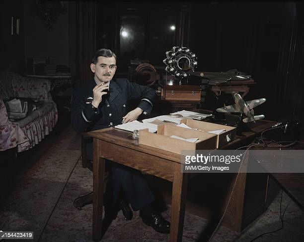 Air Commodore Sir Frank Whittle Portrait of Air Commodore Sir Frank Whittle at his desk During 1943 to 1946 Air Commodore Whittle was attached to...