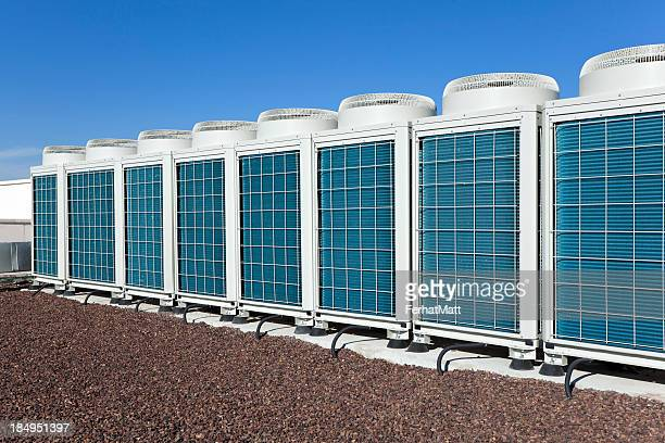 hvac air condioners - air conditioner stock photos and pictures