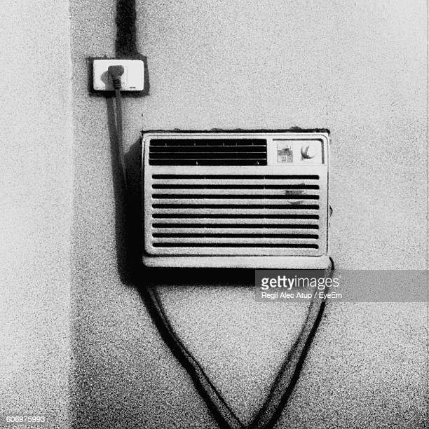 Air Conditioner On Wall At Home