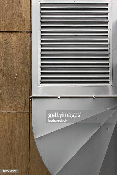 air conditioner - ship funnel stock photos and pictures