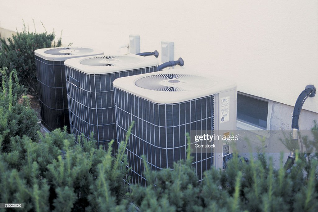 Air conditioners : Stock Photo