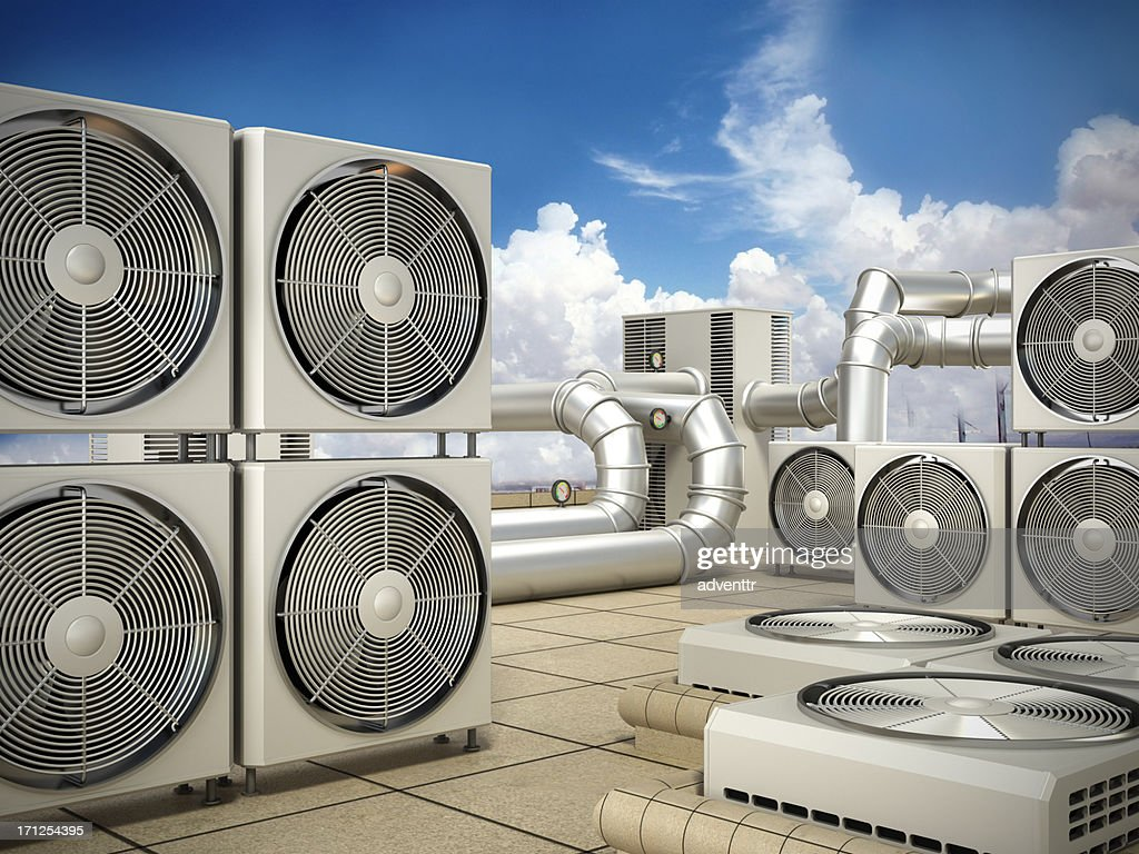 Air conditioning system : Stock Photo