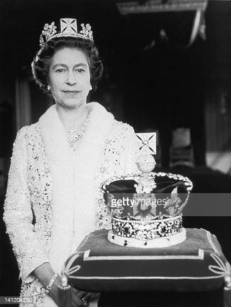 Air Date -- Pictured: Her Majesty Queen Elizabeth II of England with the Imperial State Crown -- Photo by: NBCU Photo Bank
