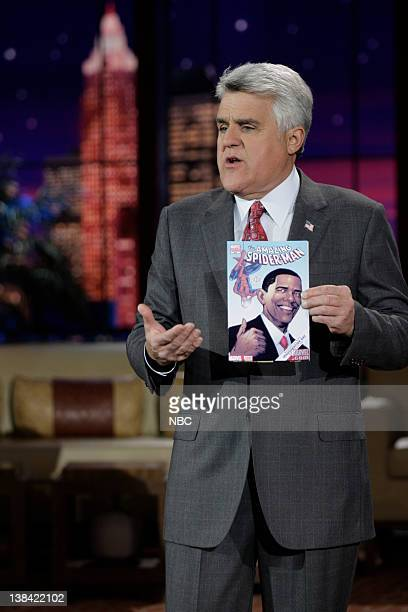 LENO Air Date Episode 3688 Pictured Host jay Leno onstage during the monologue on January 12 2009