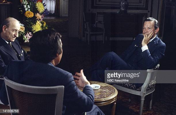 RECORD Air Date Pictured French political scientist/author Raymond Aron Australian historian/journalist/author Robert Moss NBC News' David Brinkley...