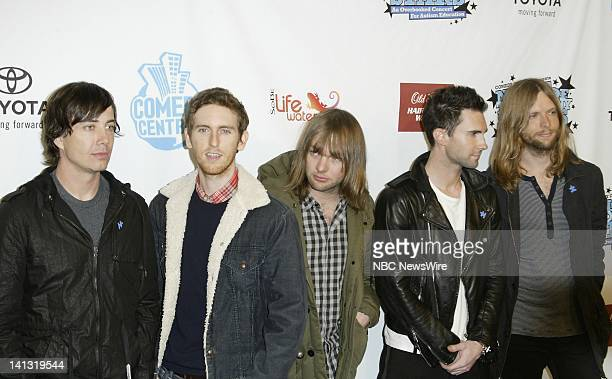 NBC NEWS Air Date Pictured Musicians from Maroon 5 attend Comedy Central's A Night of Too Many Stars a benefit for autism at the Beacon Theatre in...