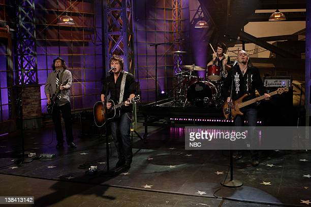 LENO Air Date Episode 3756 Pictured Musical guests The Eli Young Band performs on May 4 2009