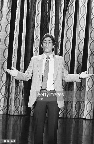 CARSON Air Date Pictured Actor/comedian Jerry Seinfeld performs on May 6 1981