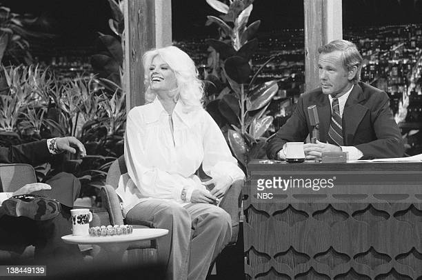 CARSON Air Date Pictured Actress Carol Wayne host Johnny Carson