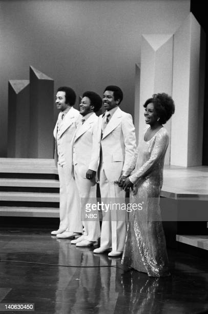 The Pips William Guest Eddie Patten Merald Bubba Knight Gladys Knight Photo by Paul W Bailey/NBCU Photo Bank