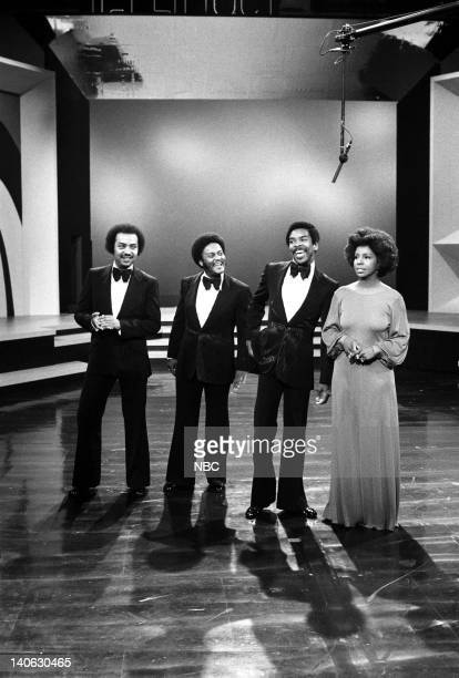 "Air Date -- Pictured: The Pips: William Guest, Eddie Patten, Merald ""Bubba"" Knight, Gladys Knight -- Photo by: Paul W. Bailey/NBCU Photo Bank"