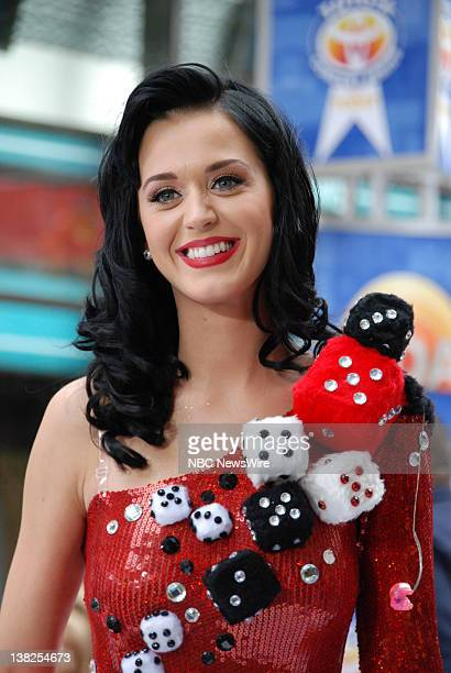 "Air Date -- Pictured: Katy Perry performs on Rockefeller Plaza for the ""Toyota Concert Series"" on July 24, 2009"