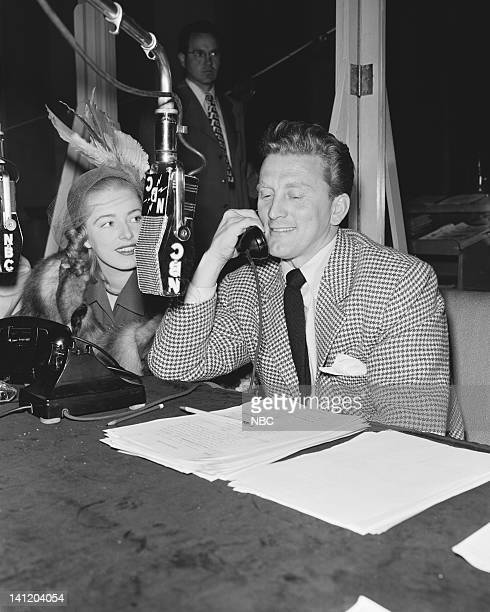 Actress Eleanor Parker actor Kirk Douglas Photo by Paul Bailey/NBCU Photo Bank