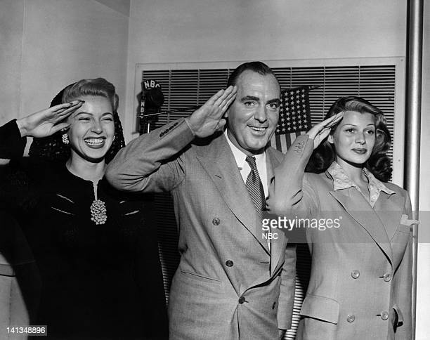 CHAMPIONS Air Date Pictured Actress Lana Turner actor Pat O'Brien actress Rita Hayworth salute the US Military in a radio tribute on September 22...