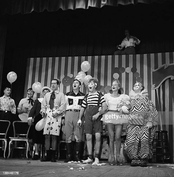 THEATER Air Date Pictured Bob Smith Milton Berle in Character June Havoc Bob Keeshan as Clarabell the Clown