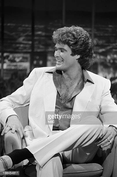 CARSON Air Date Pictured Actor David Hasselhoff on September 23 1983